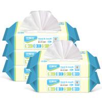 Cutebaby 可爱多 婴儿柔湿巾 (80抽*5包)
