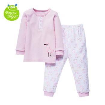 GAGOU TAGOU Z006 婴儿内衣套装 (粉色、90cm )