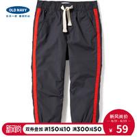OLD NAVY 820526 男幼童加厚束脚裤 (黑色)