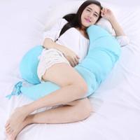 9i9 久爱久 15081 孕妇护腰枕 蓝色月牙款  周长170cm