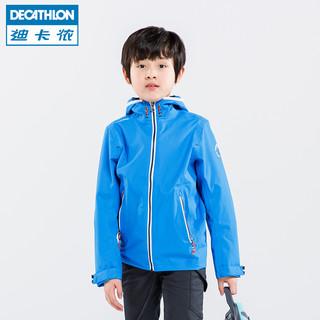 DECATHLON 迪卡侬 TRIBORD 儿童冲锋衣 (黄色)