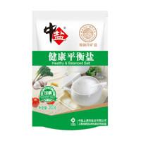 中盐 食用盐 健康平衡盐 300g