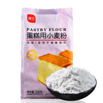 展艺 低筋粉 蛋糕用小麦粉 500g