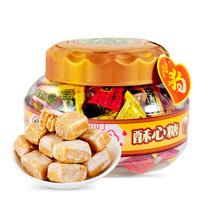 京东PLUS会员:徐福记 酥心糖桶 混合味酥糖 600g(约64颗) *4件