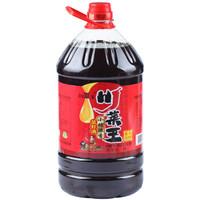 川菜王 非转基因 小榨浓香菜籽油 5L *3件
