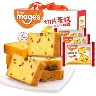 mage's 麦吉士 切片蛋糕 红枣味 820g *3件