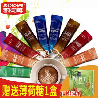 SUKACAFE 苏卡咖啡 三合一速溶咖啡粉 (750g、袋装、50条)