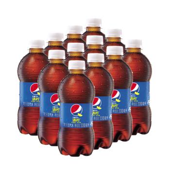 PEPSI 百事  可乐型汽水 330ml*12瓶