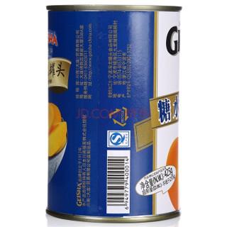 GEISHA 格益莎 糖水黄桃罐头 425g