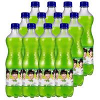 Fanta 芬达 苹果味汽水 600ml*12瓶 整箱装