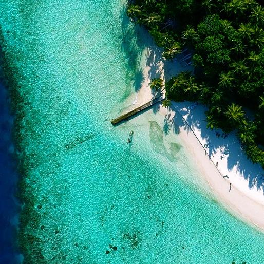 全国多地-马尔代夫比亚度/白雅湖岛6天4晚自由行