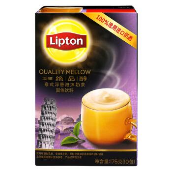Lipton 立顿 奶茶 意式浮香泡沫 175g