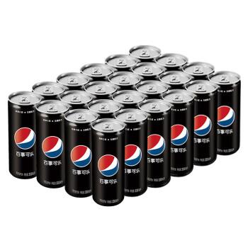 PEPSI 百事 无糖 可乐型汽水 330ml*24罐