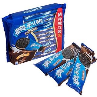 OREO 奥利奥 巧克力味 夹心饼干 349g