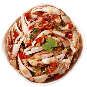 隆洋 国产麻辣蟹钳 300g 解冻即食 出口日本 麻辣鲜香 生鲜  蟹类 海鲜水产 *7件