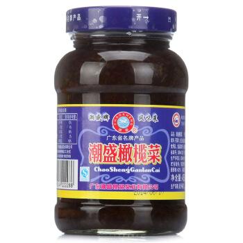 潮盛 橄榄菜 (瓶装、450g)
