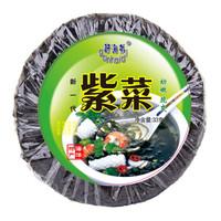 赶海弟 干坛紫菜 头水免洗无沙 紫菜蛋花煲汤食材 海洋蔬菜33g
