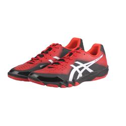 ASICS亚瑟士羽毛球鞋刀锋透气轻量款款运动鞋男女三色 R703N-2393红色/黑色(如图) 41.5