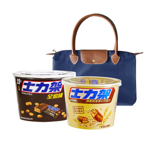 SNICKERS 士力架 花生夹心巧克力混合套装 840g (士力架460g+士力架380g+便携单肩包)