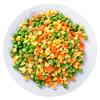 浦之灵 欧式杂菜 350g 甜玉米粒 粟米粒 进口青豆 小豌豆 胡萝卜 冷冻蔬菜 方便菜 生鲜 速冻食品 半成品菜