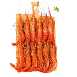 大洋世家 冷冻阿根廷红虾 L2(中号) 2kg