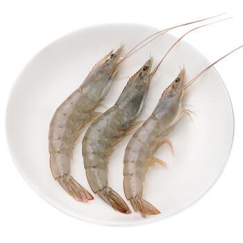 OCEAN FAMILY 大洋世家 厄瓜多尔白虾(中号)2kg 100-120只 *2件+凑单品