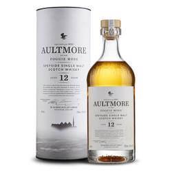 欧摩(AULTMORE)洋酒 威士忌 12年 斯贝塞 单一麦芽威士忌酒 700ml *2件