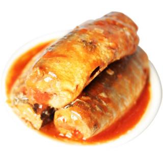 佳必可 茄汁沙丁鱼罐头 425g 海鲜罐头 自营海鲜水产