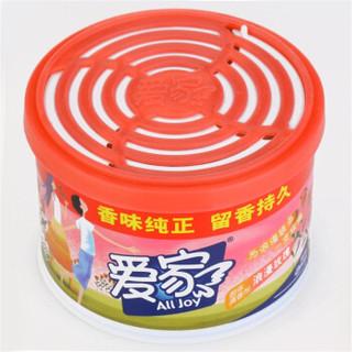 爱家 固体清香剂 浪漫玫瑰 88g 固体 空气清新剂 芳香剂 卫生间除臭 车载香水汽车香水