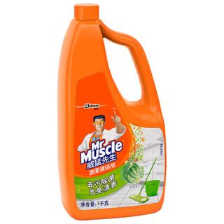 Mr Muscle 威猛先生 地面清洁剂 草本 1kg