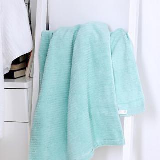 毛毛雨 纯棉浴巾 粉色 70cm*140cm