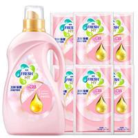 Fresh HY 卫新 除菌 衣物护理剂 清怡樱花香 2kg+50g*6袋