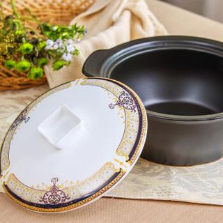 瓷工巧匠 碗碟套装 景德镇餐具套装 56头陶瓷器骨瓷碗盘碟 维也纳