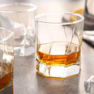 乐美雅 Luminarc 神迹无铅玻璃水杯茶杯果汁饮料啤酒杯 300ml 6只装 L5629