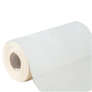 顺清柔 厨房用纸巾 压花卷筒式厨房纸2层*4卷