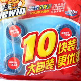 威王 洁厕宝50g*10/块 洁厕块 蓝泡泡 马桶 清洁 去味 立白集团出品