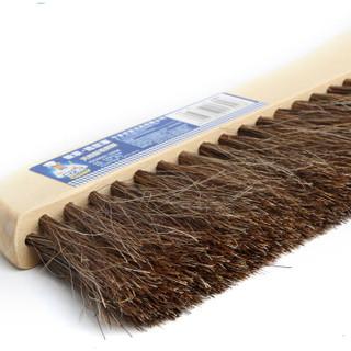 世家 木质天然鬃毛床刷 除尘刷清洁刷桌面扫把 21302