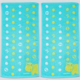 Fisher-Price 费雪 儿童竹纤维毛巾 蓝色 33*66cm 4条装