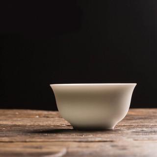 兆禾 无光脂白小正杯