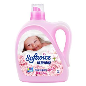 可柔可顺 衣物护理剂 香薰玫瑰 3.3kg