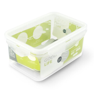 普业 塑料保鲜盒 1000ml*6个