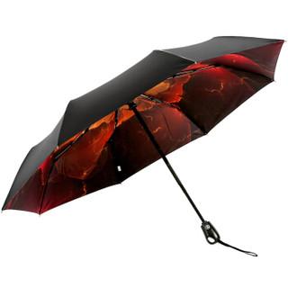 Paradise 天堂伞 31803E 全自动黑胶三折 晴雨伞