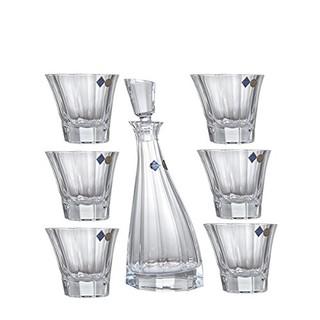 Crystalite Bohemia 酒具7件套