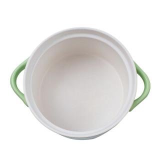 乐享 陶瓷锅 3200ml 绿色