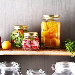 Pasabahce 帕莎帕琦 玻璃密封罐 3件套 (300ml+500ml+1000ml)