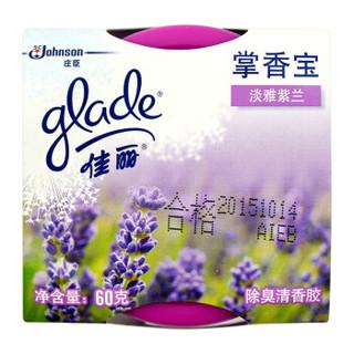 Glade 佳丽 空气清新剂 淡雅紫兰 60g