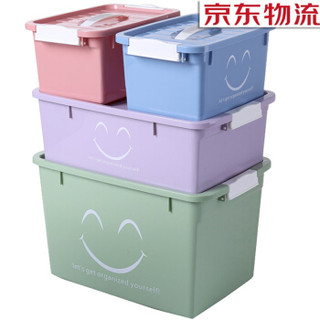 FK 访客 塑料收纳箱四件套 四件套装70L