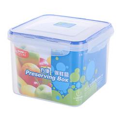 龙士达(LONGSTAR) 微波炉饭盒保鲜盒 3L透明塑料密封罐便当盒 收纳盒LK-2011 *9件
