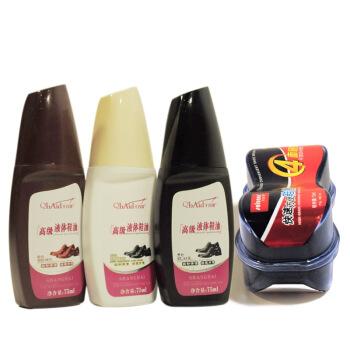 Cbanner 千百度 高级液体鞋油套装(黑色+无色+棕色+鞋擦)