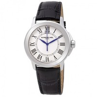 RAYMOND WEIL 蕾蒙威 传统 5576-ST-00300 Men's watch (圆形、皮革、白色)